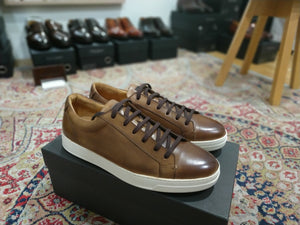 Carlos Santos Low Top Sneaker in Algarve Patina (Odd Stock)