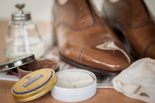 Load image into Gallery viewer, The Quarters Signature Shoe Care & Shine Service