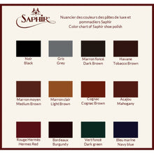 Load image into Gallery viewer, Saphir Medaille D'Or Pommadier Creme Polish (NOTE: Medium Brown, Tobaco Brown & Burgundy on Backorder - Arrive 3rd Week of March 2020)