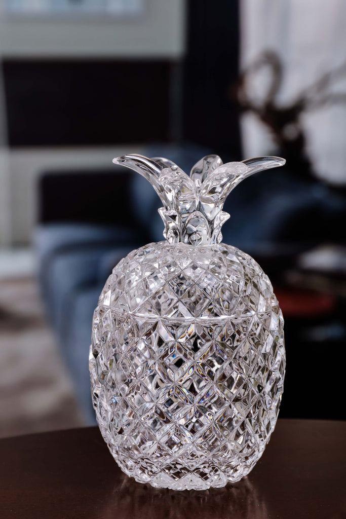 Diamond Cut Pineapple Jar