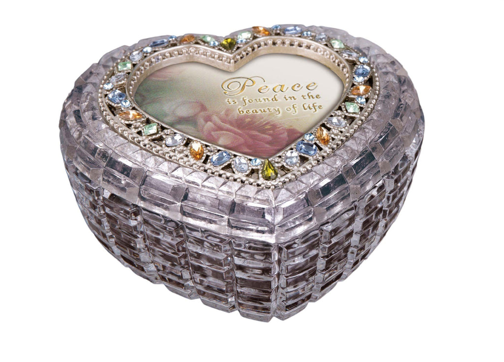 Diamond Cut Golden Heart Box  - Icycraft