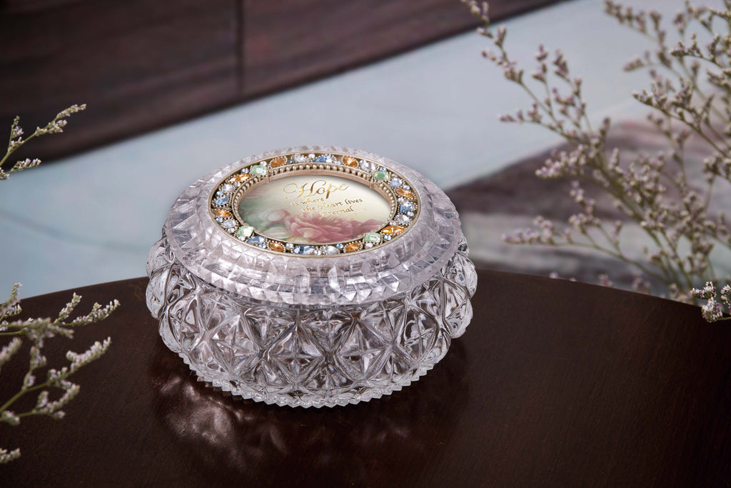 Diamond Cut Golden Round Box  - Icycraft
