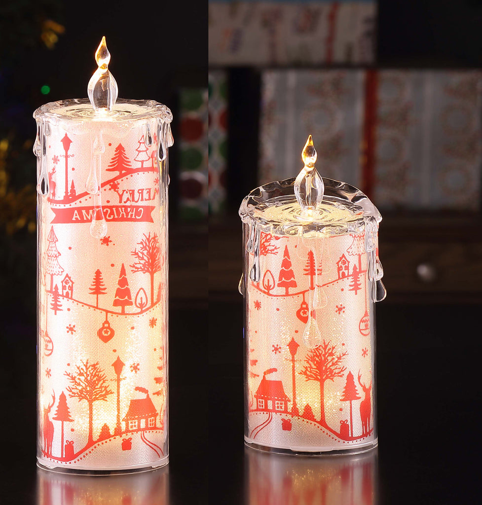 Christmas Village Candle Set