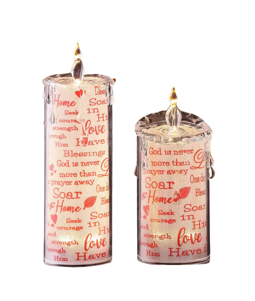 Holy Messages Candle Set