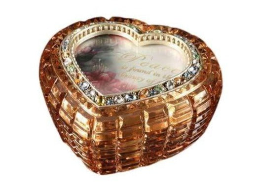 Amber Jewelry Box w/Music - Icy Craft
