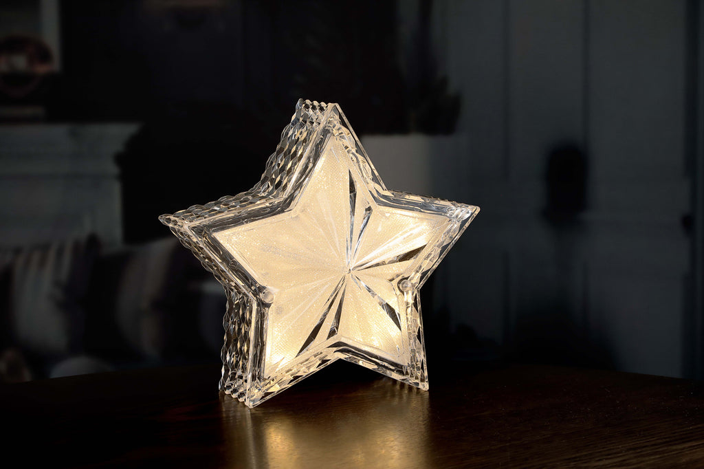 Gold LED Star