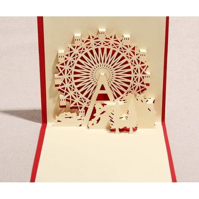 Ferris Wheel Stand-Up Card - Icy Craft