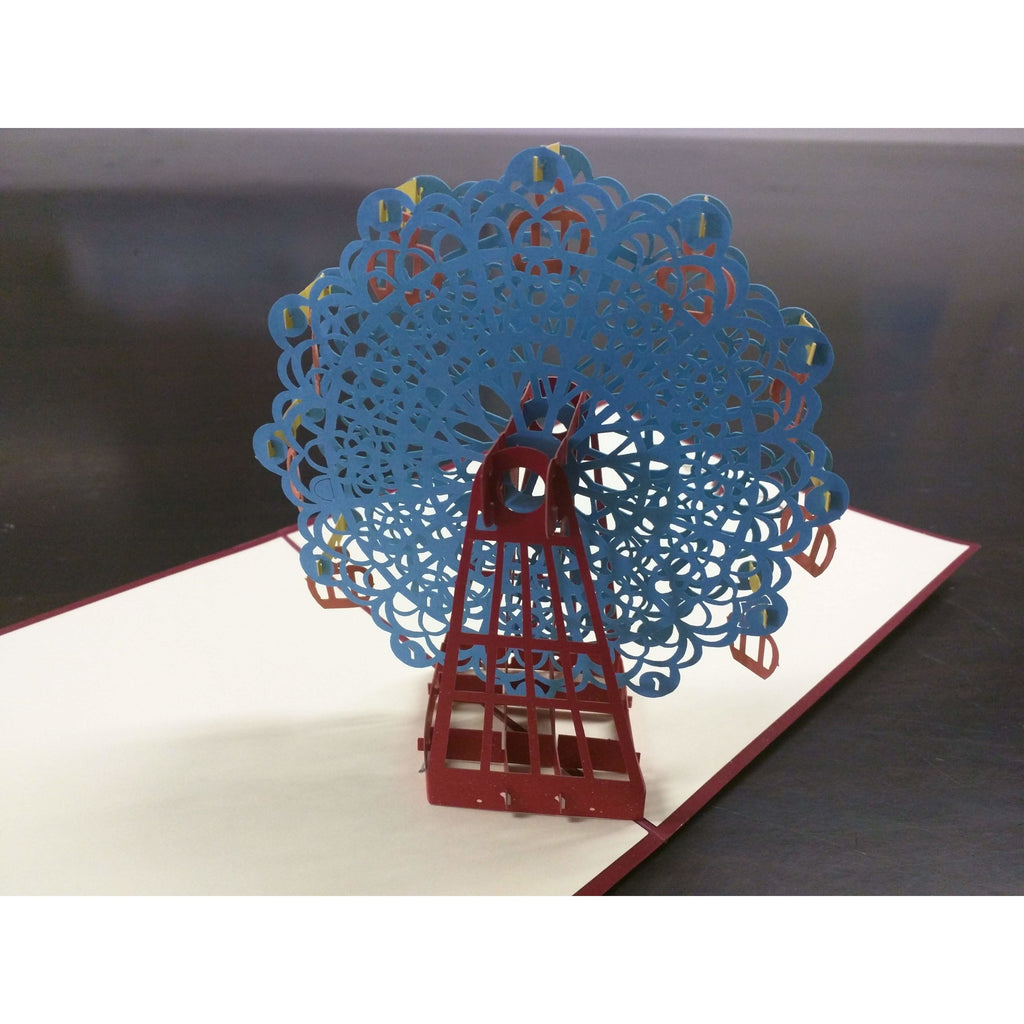 Ferris Wheel Pop-Up Card - Icy Craft