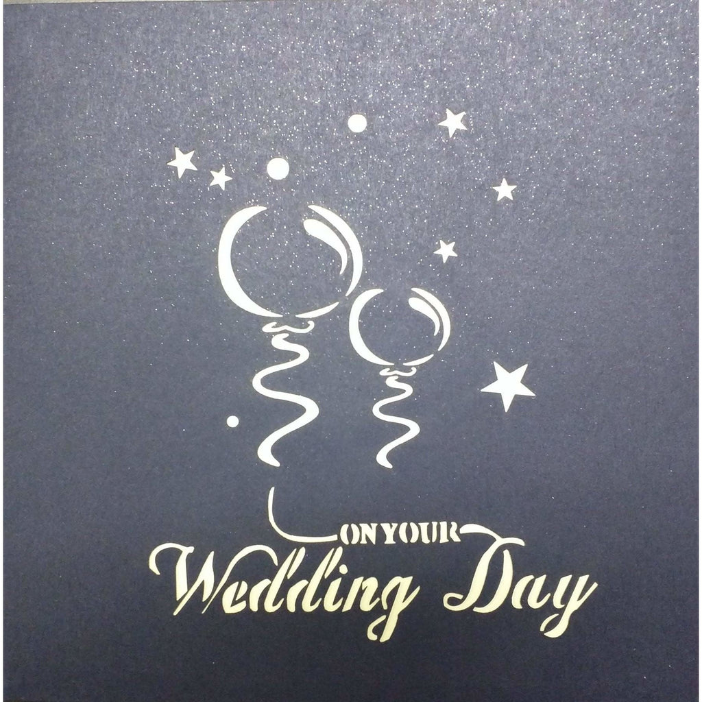 Wedding Day Pop-Up Card - Icy Craft