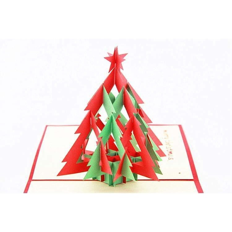 A Thousand Trees Merry Christmas Pop-Up Card - Icy Craft