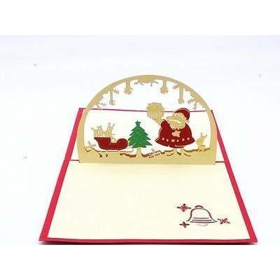 Christmas Dome Pop-Up Card - Icy Craft