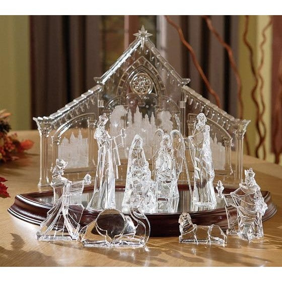 Nativity Set - Icy Craft