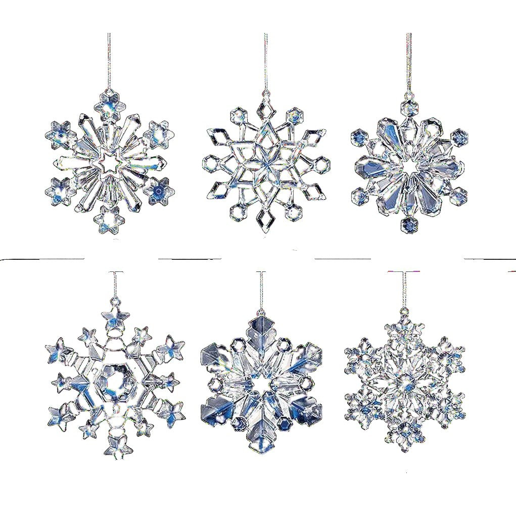 Snowflake Ornaments - Icy Craft