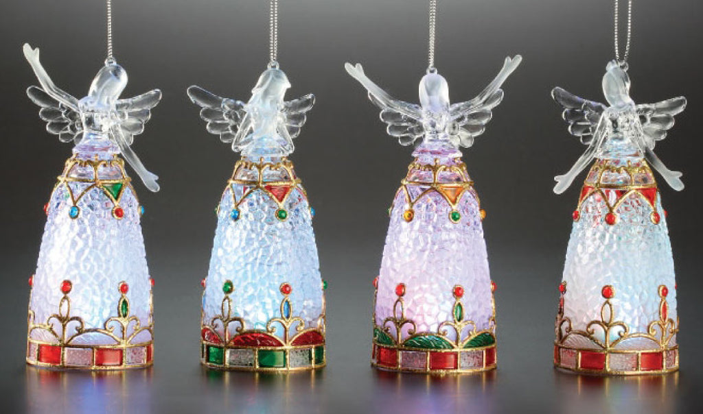 Angel Lamp Orn. 4/set