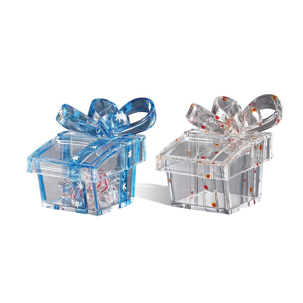 Square Gift Box Red/Blue