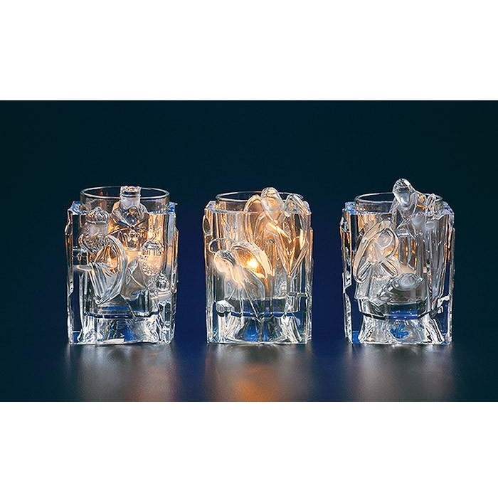 Nativity Votive Candle Holders - Icy Craft