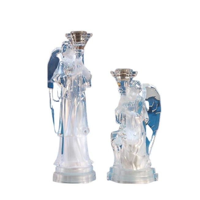 Angel Candlesticks - Icy Craft
