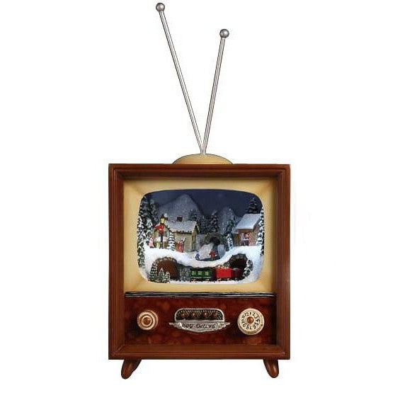 Vertical Christmas TV Box - Icy Craft