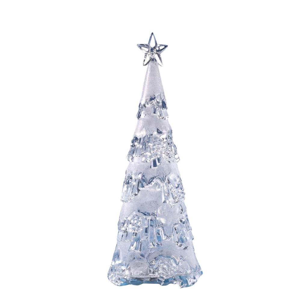 Frosted Glitter Christmas Tree - Icy Craft