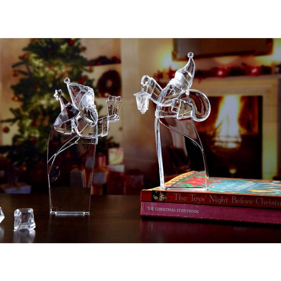 Father Christmas Statuettes - Icy Craft