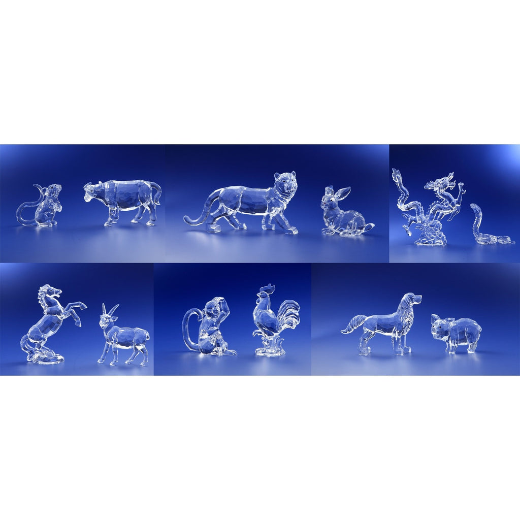 12 Chinese Zodiac Animal Set - Icy Craft