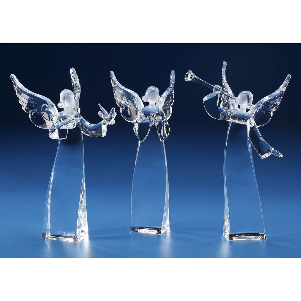 Twisted Angel Statuettes