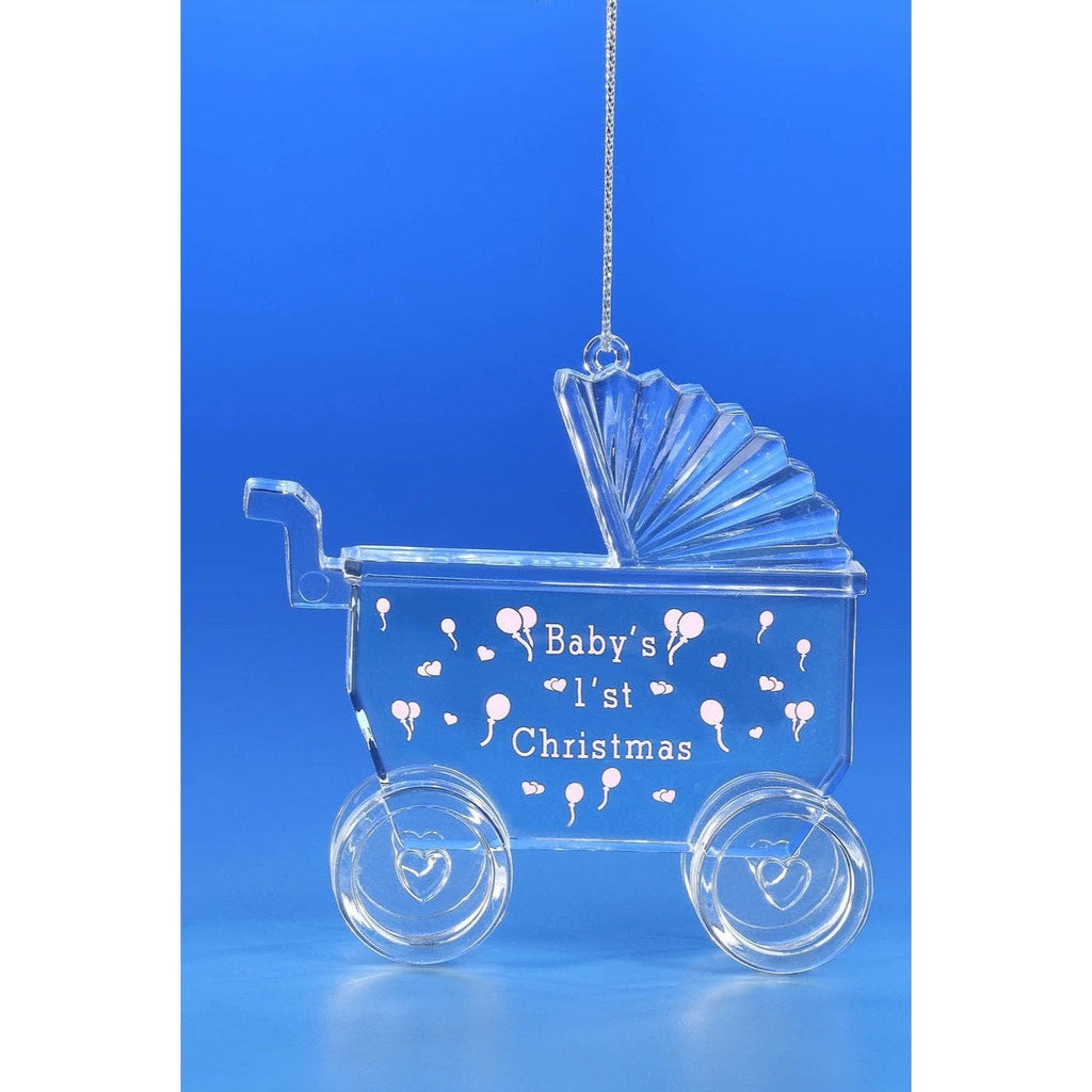 Vintage Baby Stroller Orn. - Icy Craft