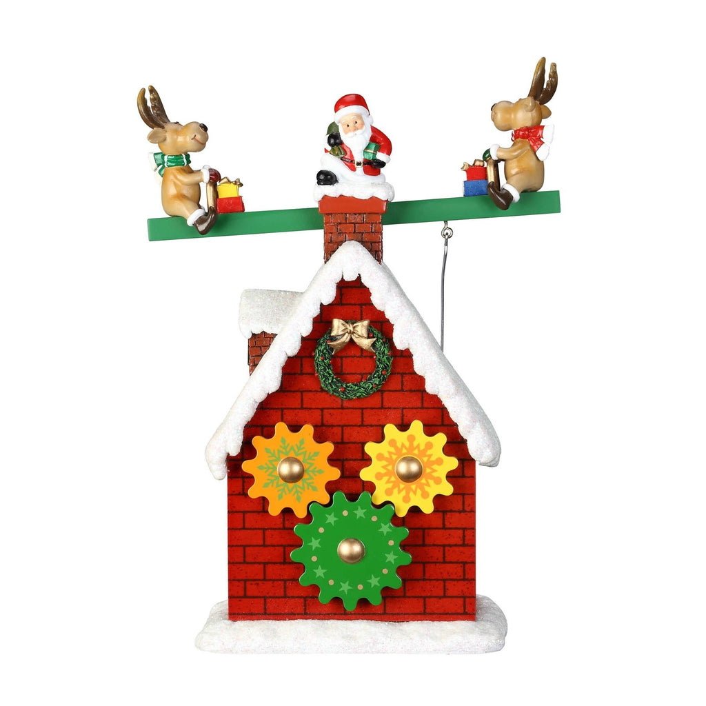 Santa & Reindeer Seesaw - Icy Craft