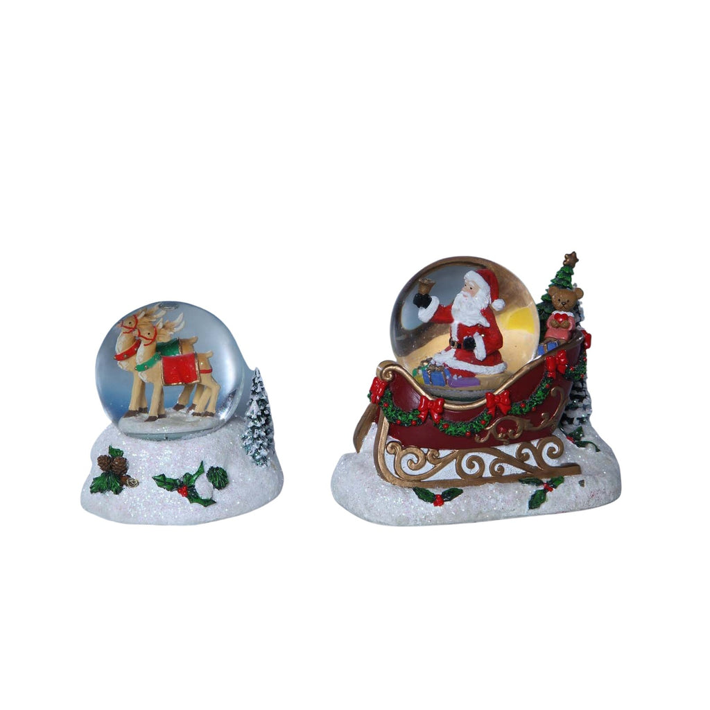 Santa Miniature Waterglobes - Icy Craft