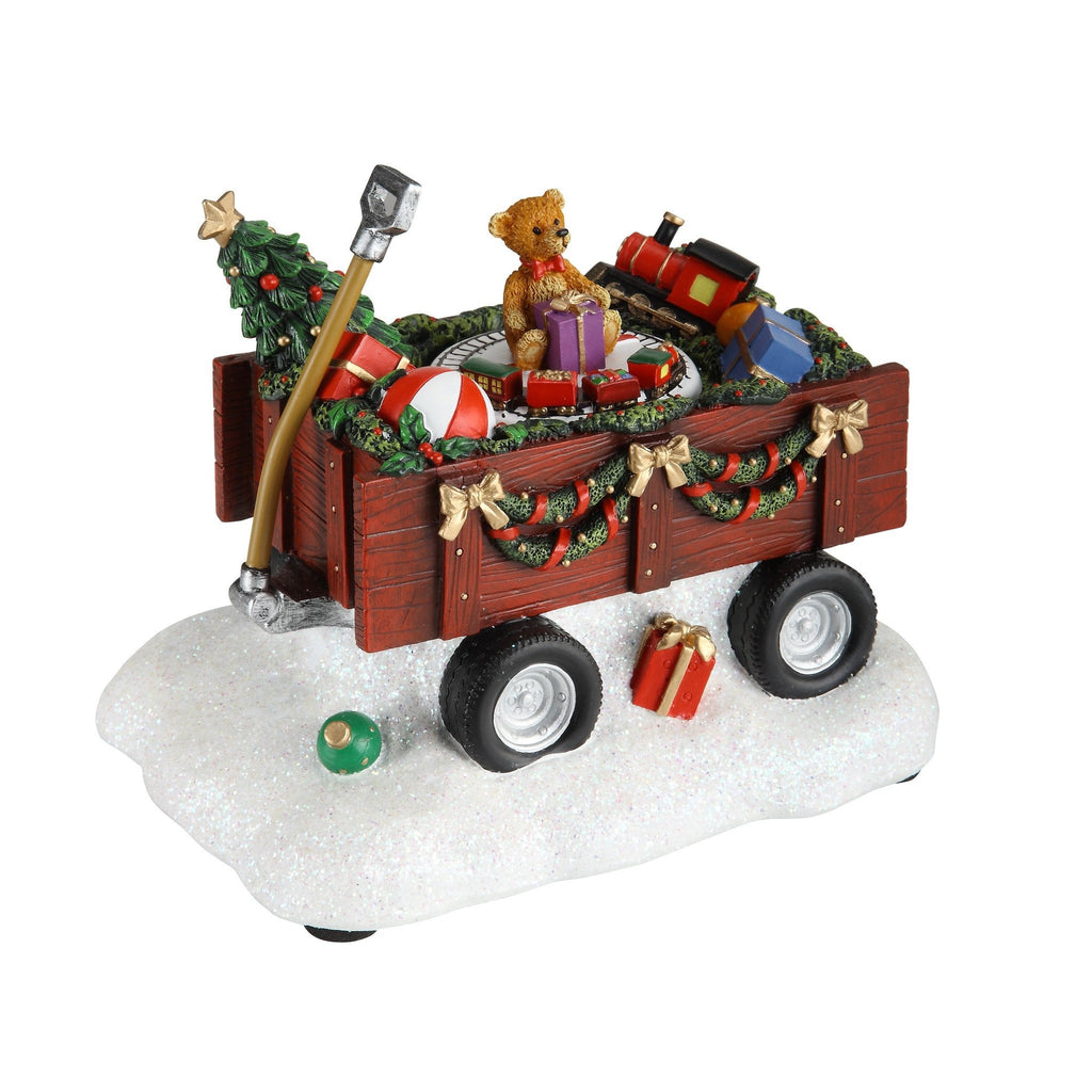 Christmas Wagon - Icy Craft