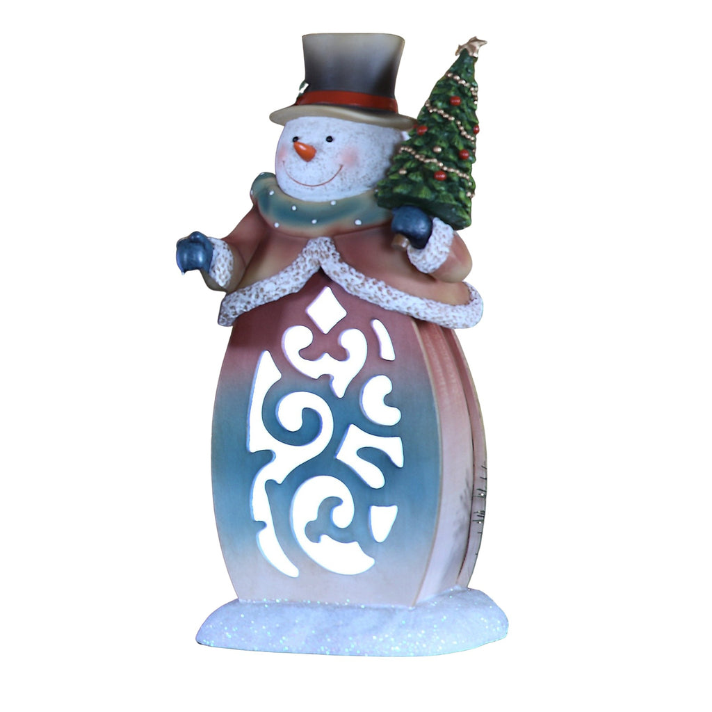 Snowman Scroll Lightbox