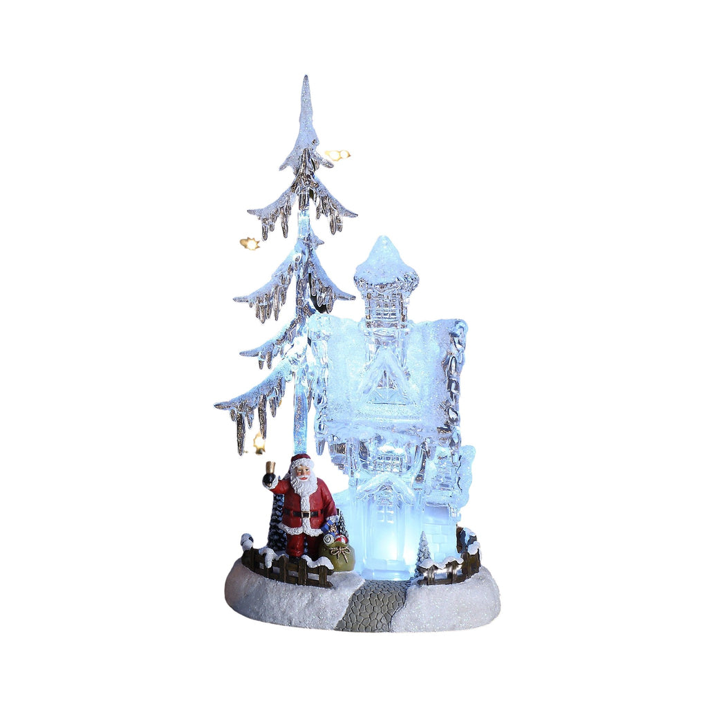 Santa Forest House & Tree - Icy Craft