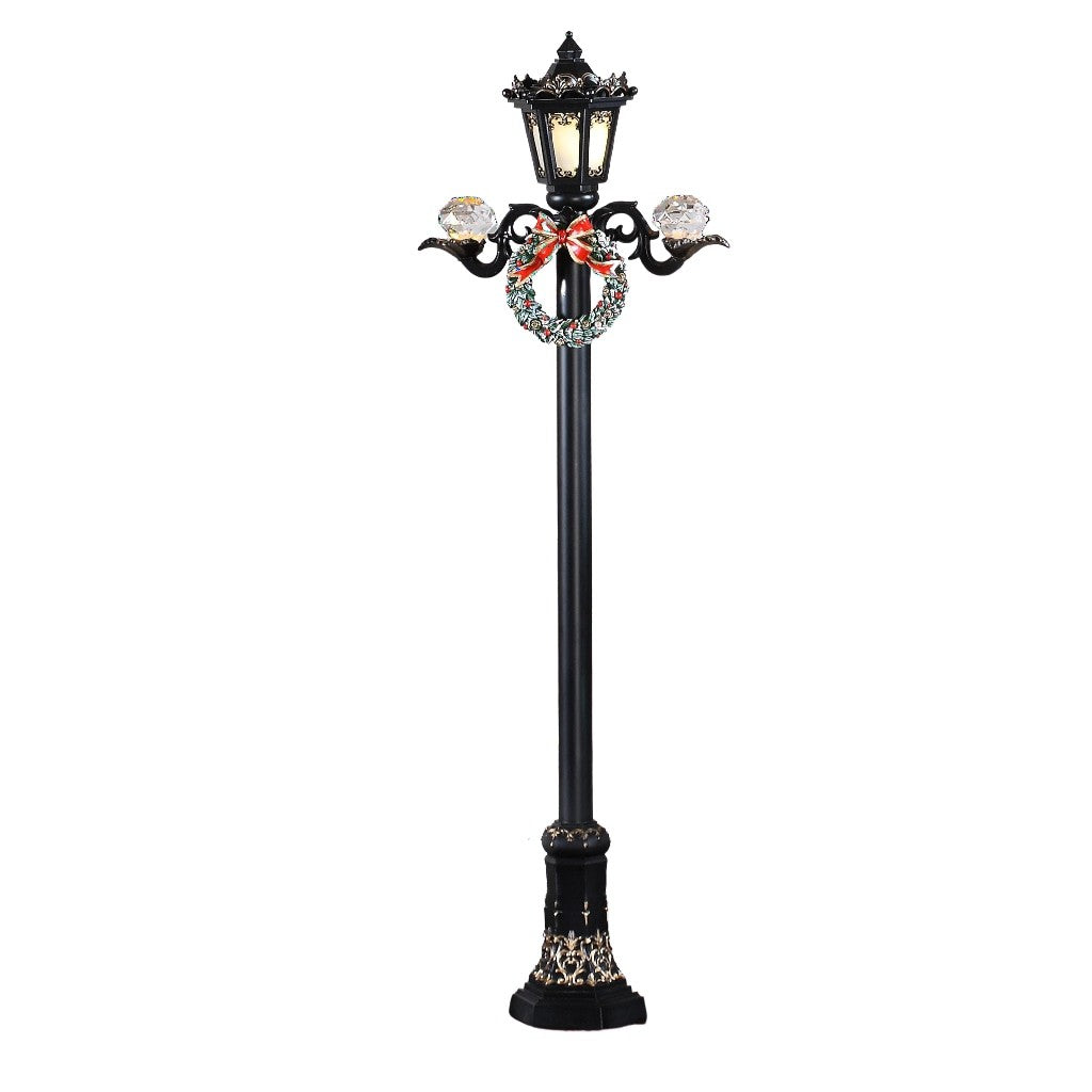 "28"" Black Street Lamp - Icy Craft"