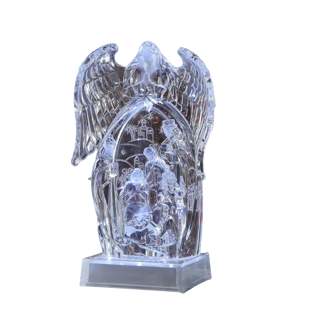 Winged Angel Nativity - Icy Craft