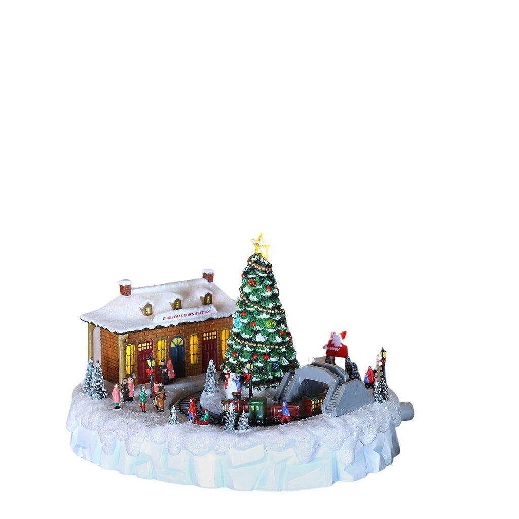 Christmas Town Station - Icy Craft