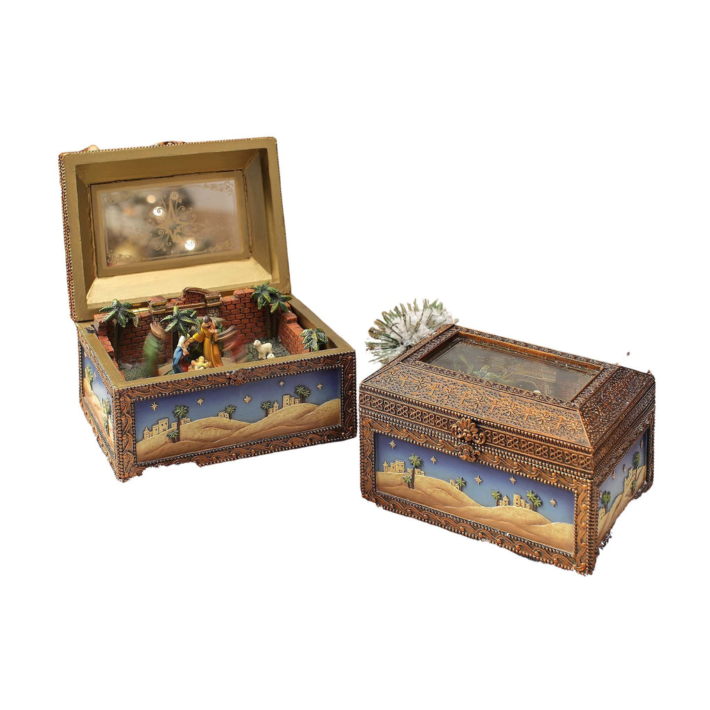 Nativity Music Box - Icy Craft