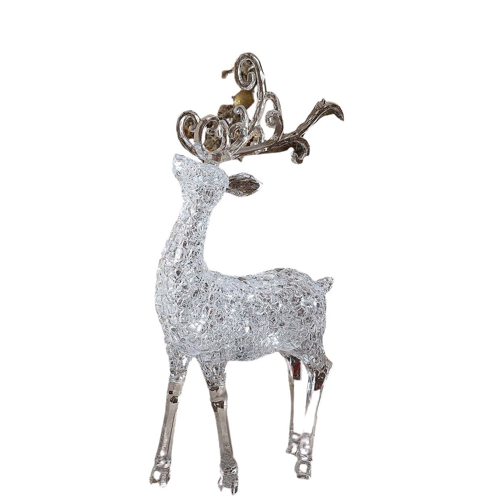 Lg. Ice Cube Deer - Icy Craft