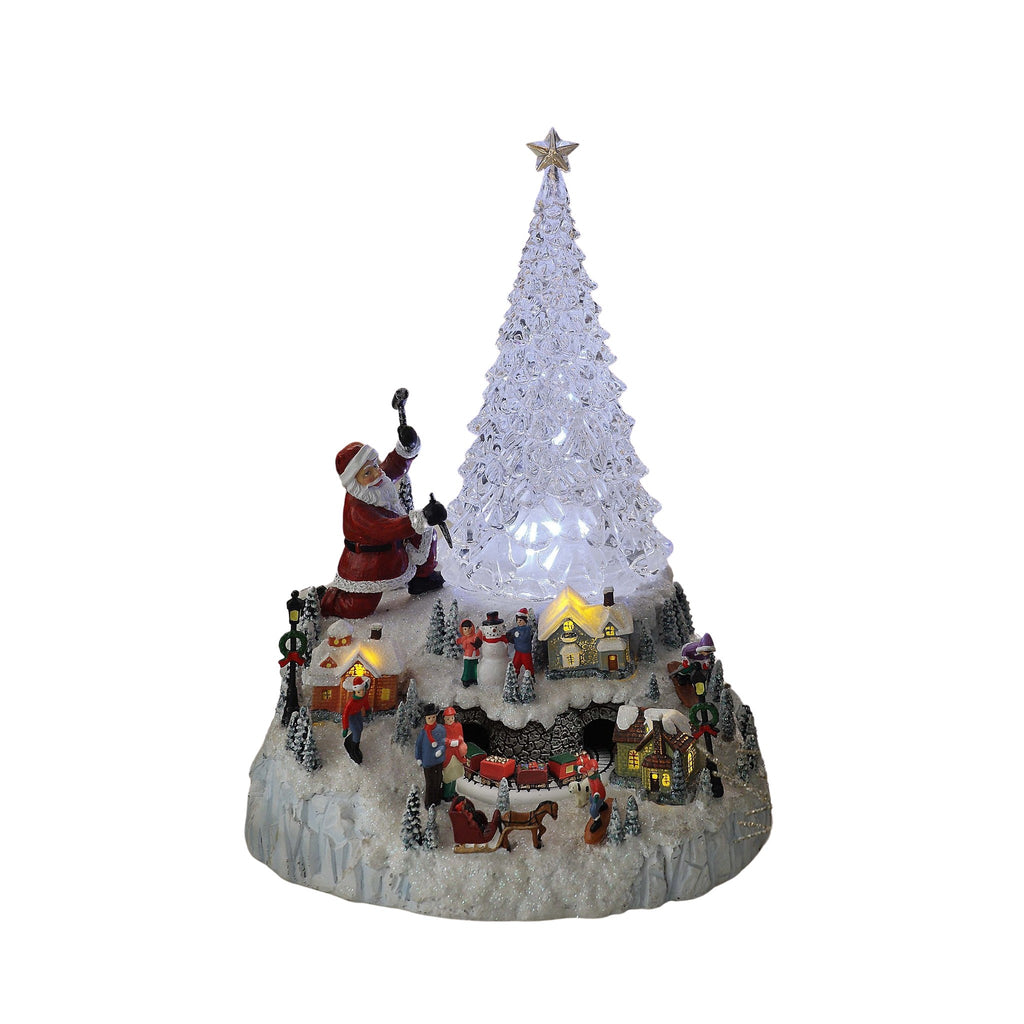 Tree Ice Sculpture - Icy Craft