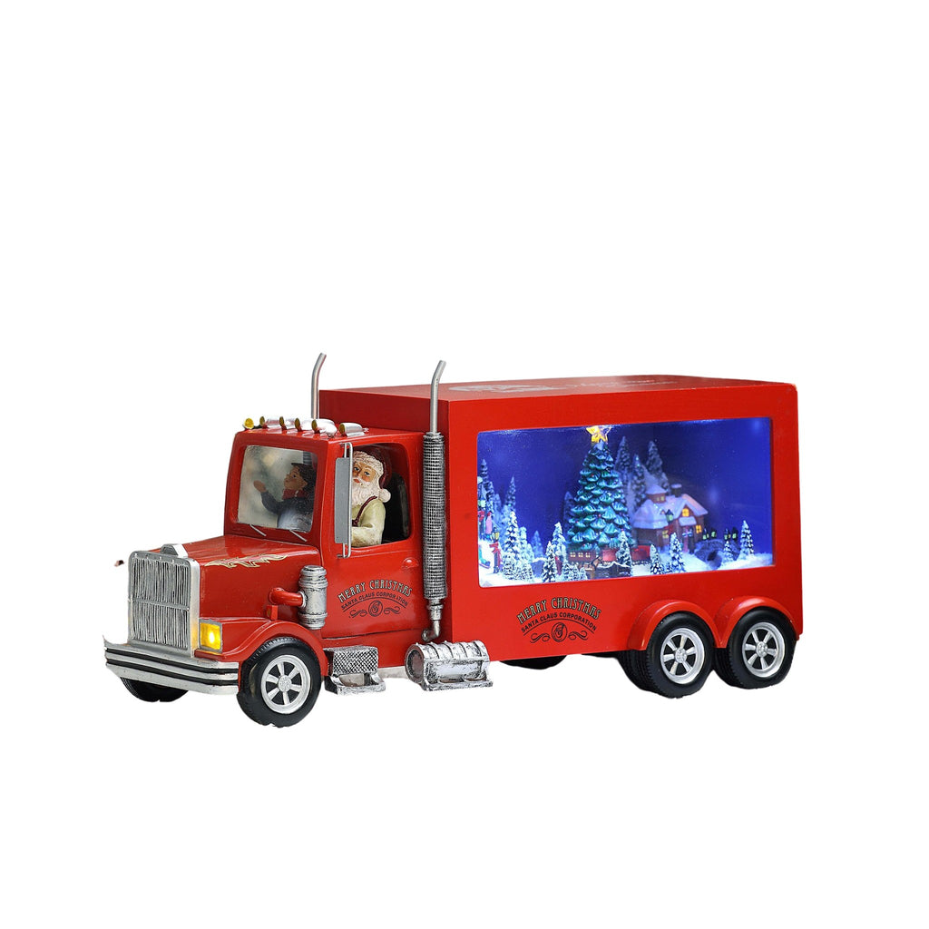 Santa Red Big Rig - Icy Craft