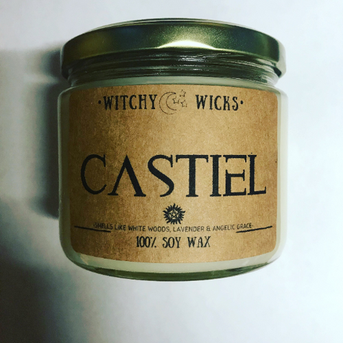 Castiel 100% Soy Wax Candle