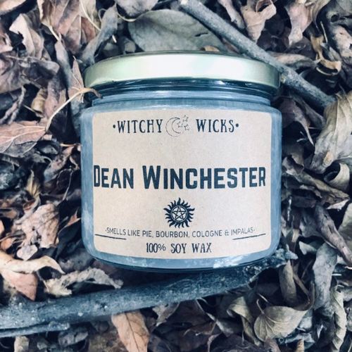Dean Winchester 100% Soy Wax Candle