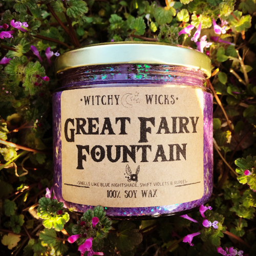 Great Fairy Fountain 100% Soy Wax Candle