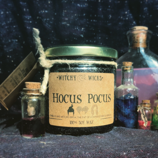 Hocus Pocus 100% Soy Wax Candle