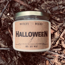 Load image into Gallery viewer, Halloween 100% Soy Wax Candle