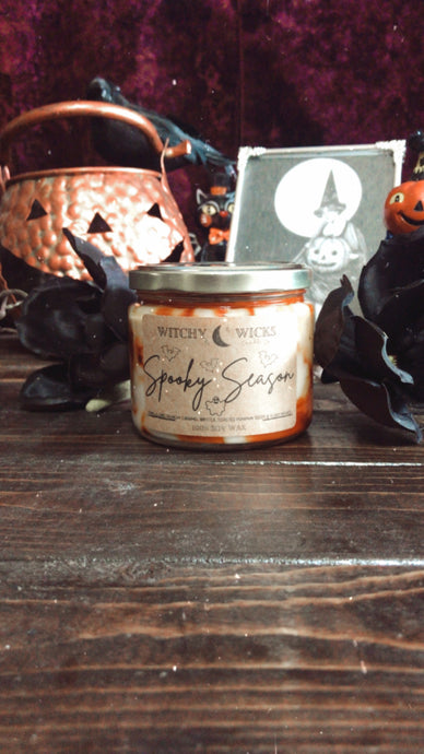 Spooky Season 100% Soy Wax Candle