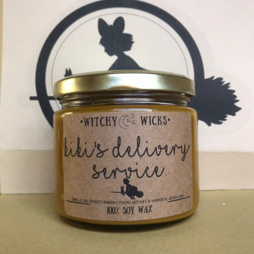 Kiki's Delivery Service100% Soy Wax Candle