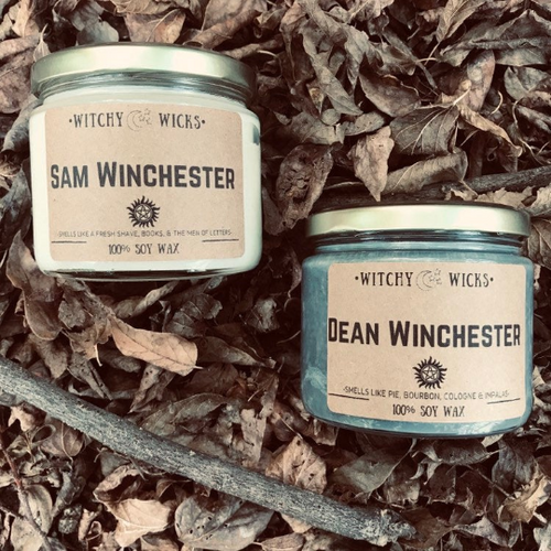Sam & Dean Combo Pack 100% Soy Wax Candles