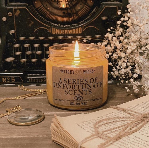 A Series of Unfortunate Scents 100% Soy Wax Candle