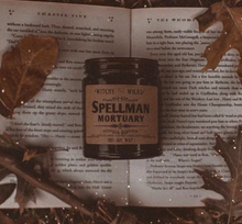 Load image into Gallery viewer, Spellman Mortuary 100% Soy Wax Candle