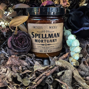 Spellman Mortuary 100% Soy Wax Candle